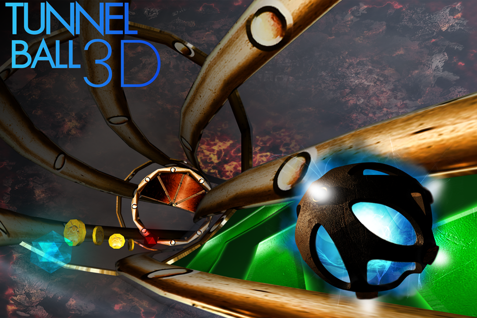Screenshot Tunnel Ball 3D